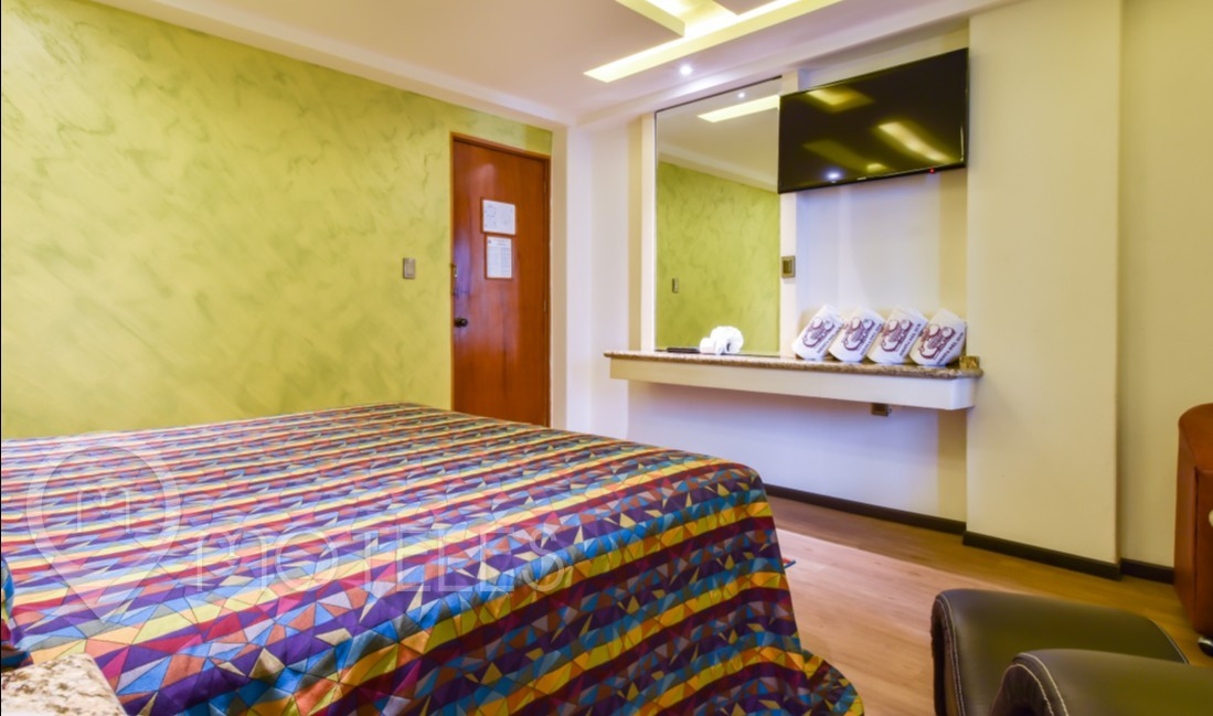 Habitacion Hotel Jacuzzi del Motel Siesta del Sur