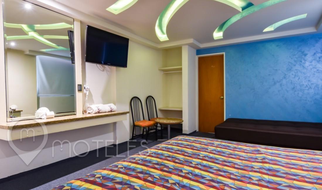 Habitacion Hotel Triple del Motel Siesta del Sur