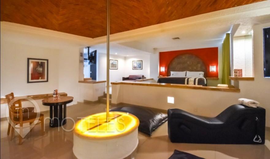 Habitacion Master T del Motel Suites Las Fuentes