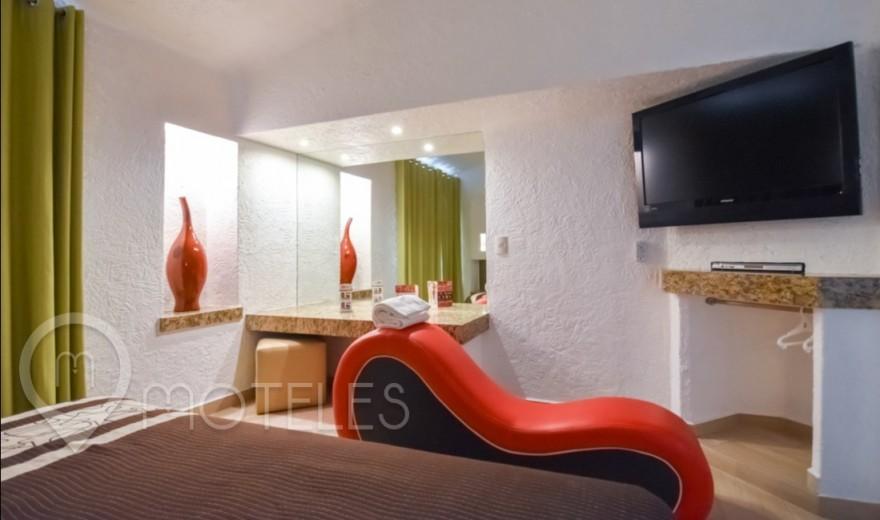 Habitacion Sencilla del Motel Suites Las Fuentes