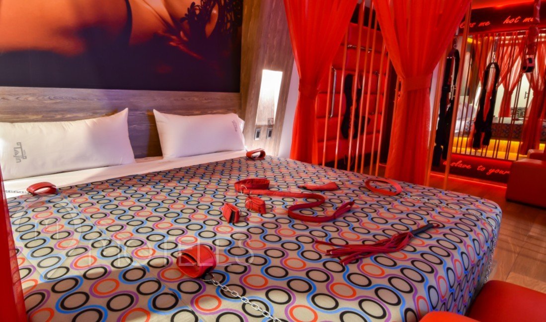 Habitacion Jacuzzi 50 Shades  del Motel Tajín