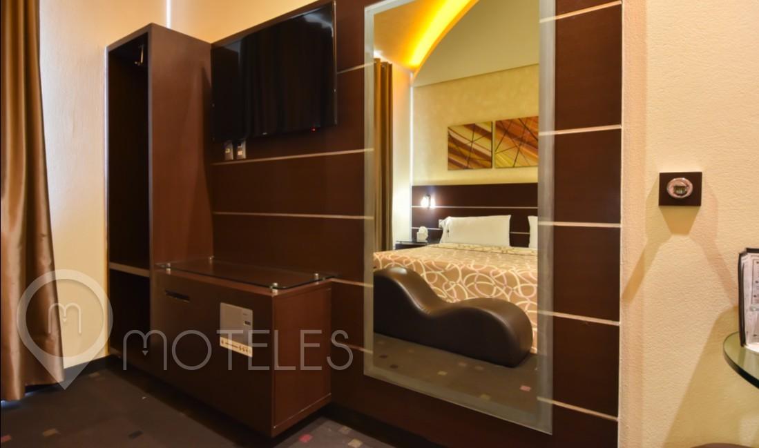 Habitacion Sencilla  del Motel Talismán