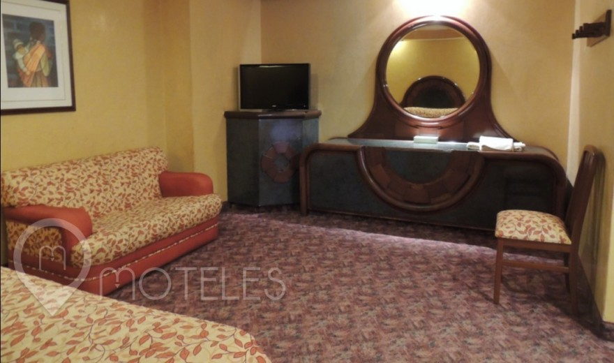 Habitacion Doble del Motel Ticomán Plaza