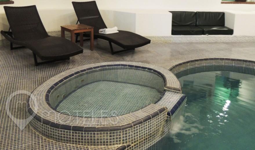 Habitacion Suite Alberca del Motel Suites & Villas Tikal