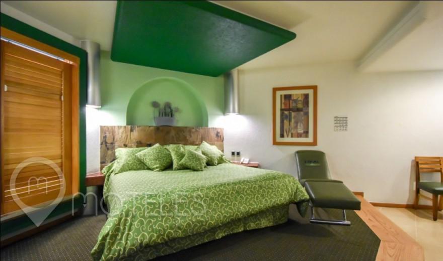 Habitacion Villa Sencilla del Motel Suites & Villas Tikal