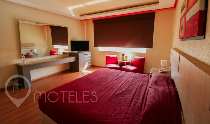 Habitacion Hotel y Motel Sencilla del Motel Tláhuac Hotel & Suites