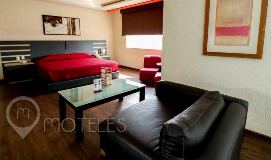 Habitacion Suite Jacuzzi del Motel Tláhuac Hotel & Suites
