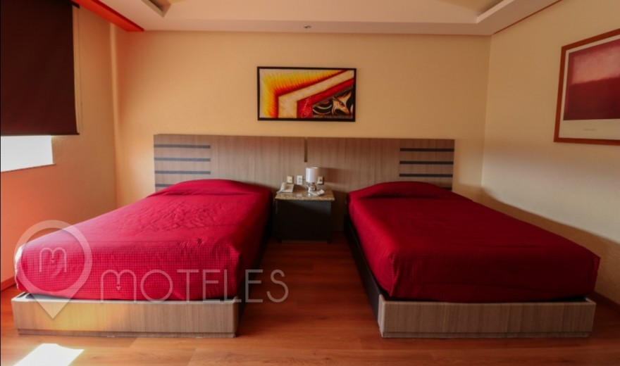 Habitacion Torre Doble del Motel Tláhuac Hotel & Suites