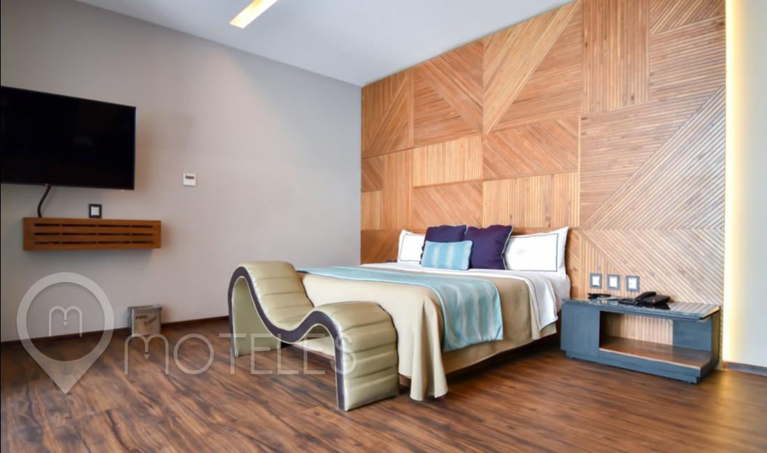 Habitacion Alberca  del Motel Picasso Lerma
