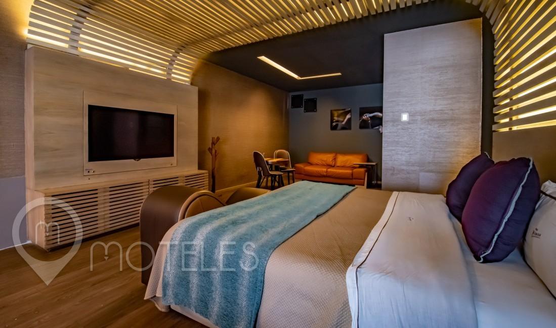 Habitacion Jacuzzi del Motel Picasso Lerma