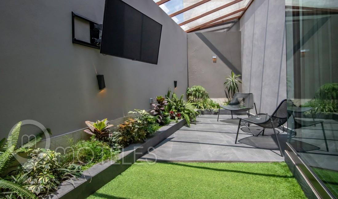 Habitacion Master Jardín  del Motel Picasso Lerma
