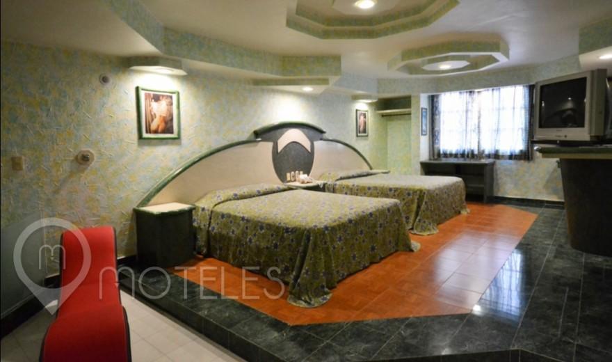 Habitacion Doble con Jacuzzi del Motel Tultitlán