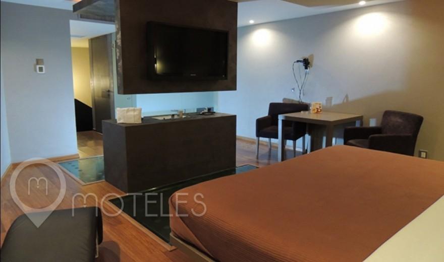 Habitacion Jacuzzi del Motel Urban Hotel & Villas