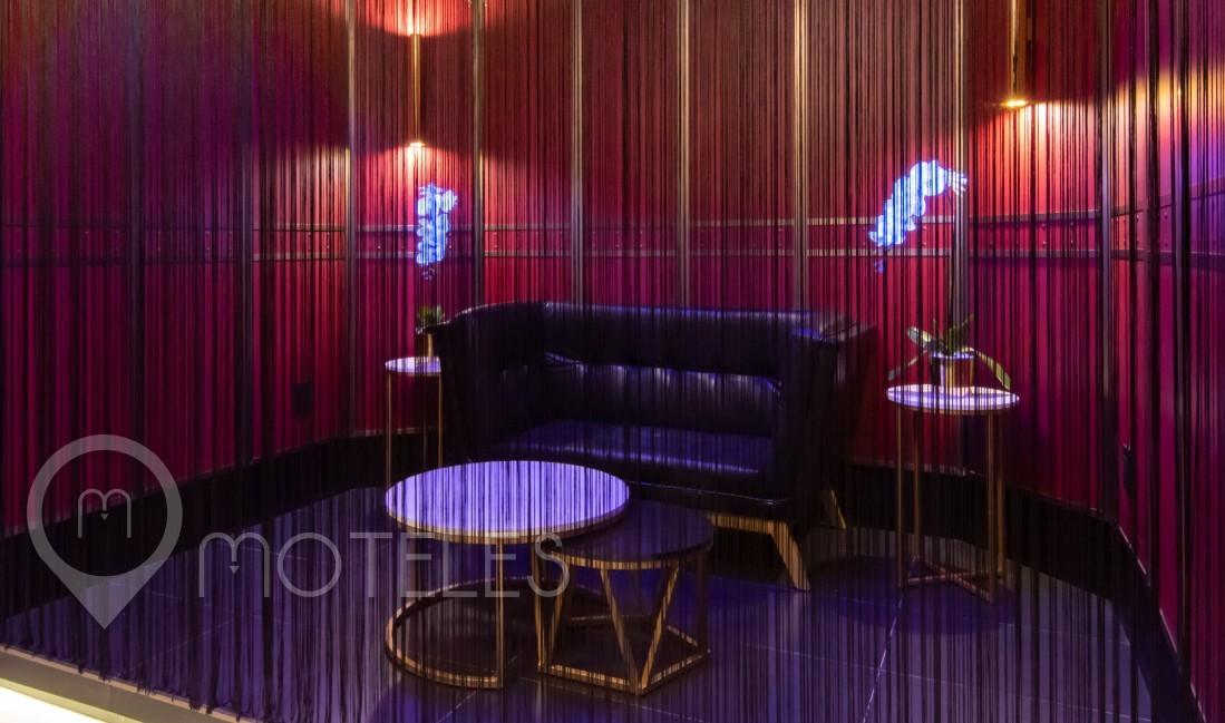 Habitacion Pool Party Room  del Motel V Motel Boutique Periférico Norte