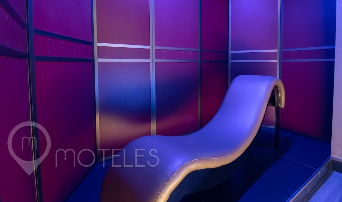 Habitacion Twin Suite  del Motel V Motel Boutique Periférico Norte