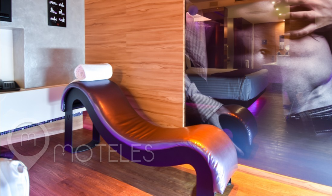 Habitacion Junior Suite del Motel V Motel Boutique Sur
