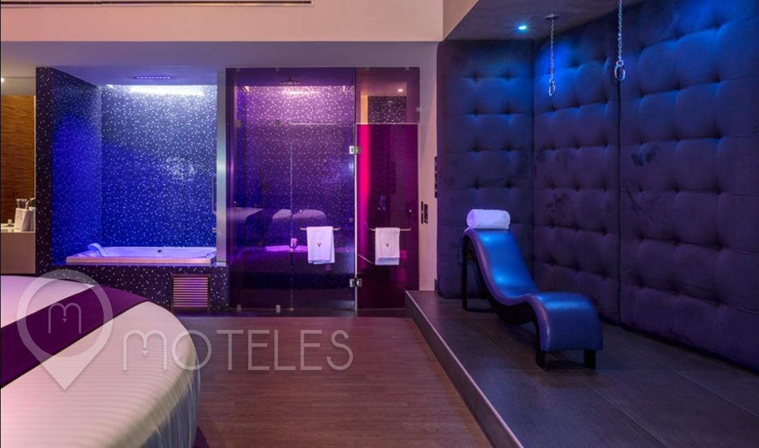 Habitacion Sky Suite del Motel V Motel Boutique Sur