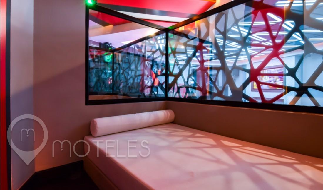 Habitacion Pool Party Room   del Motel V Motel Boutique Viaducto