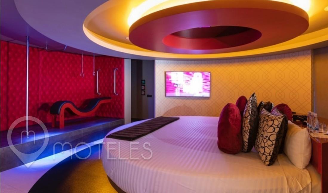 Habitacion Sky Suite del Motel V Motel Boutique Viaducto