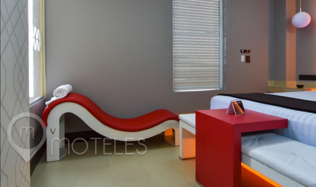 Habitacion Twin Suite del Motel V Motel Boutique Viaducto