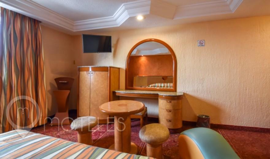 Habitacion Amplia del Motel Villa Verde