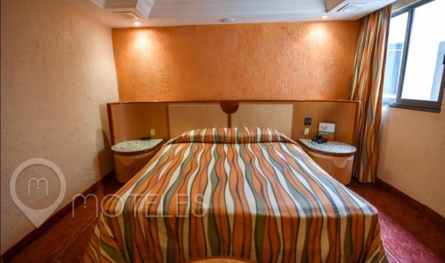 Habitacion Sencilla del Motel Villa Verde