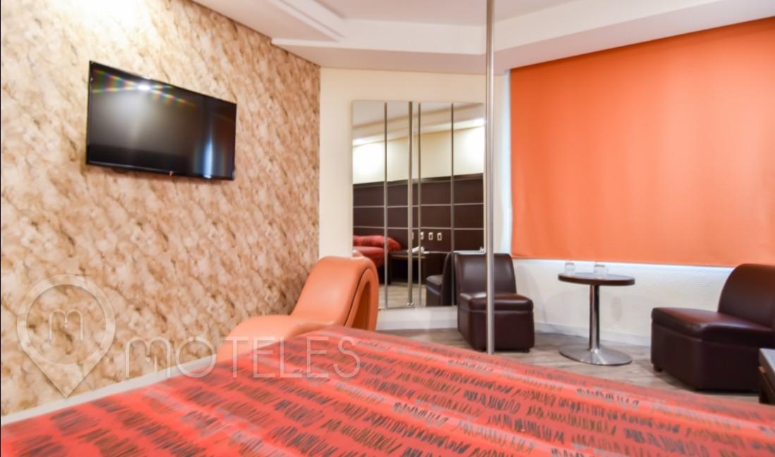 Habitacion Hotel Sencilla del Motel Villas Ajusco