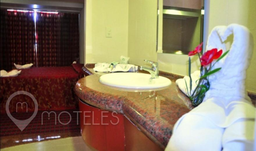 Habitacion Hotel Sencilla del Motel Villas Puente