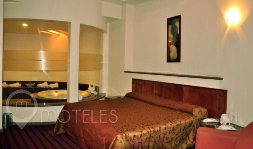Habitacion Jacuzzi del Motel Villas Puente