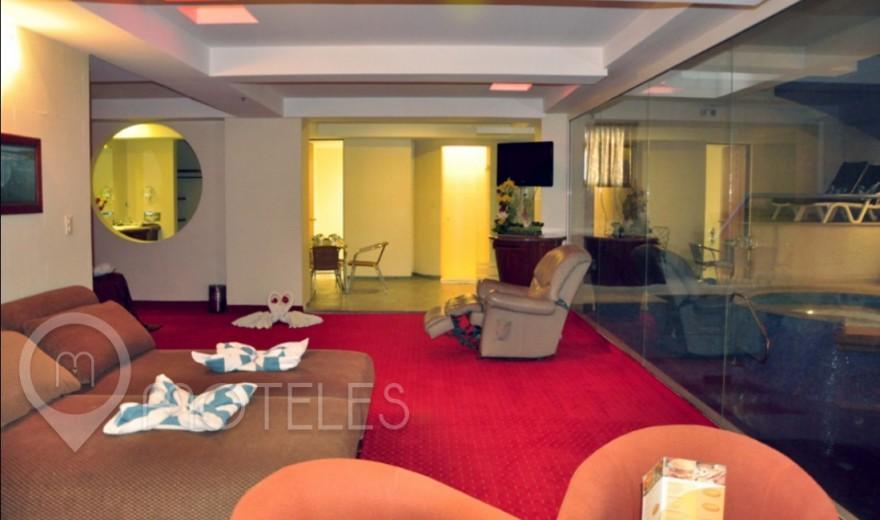 Habitacion Suite Alberca del Motel Villas Puente