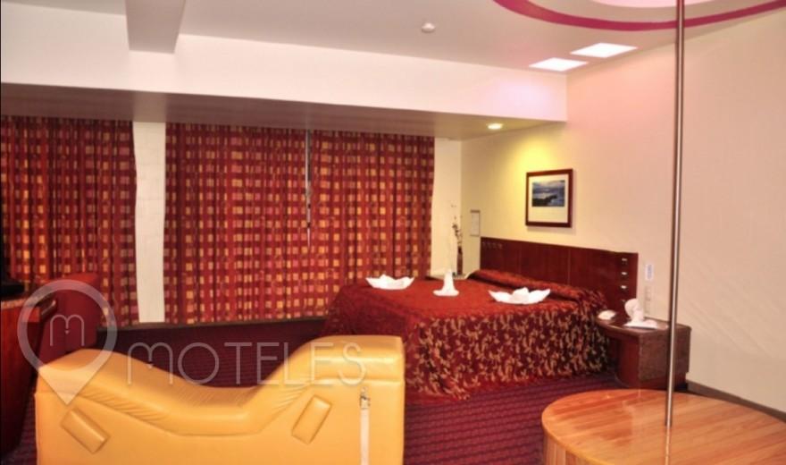Habitacion Suite Jacuzzi del Motel Villas Puente