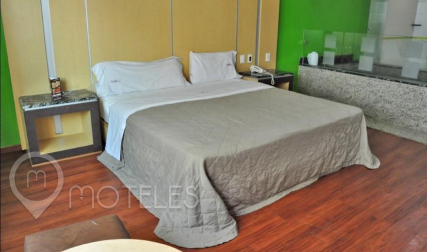 Habitacion Hotel Jacuzzi del Motel Xanadú Hotel & Suites