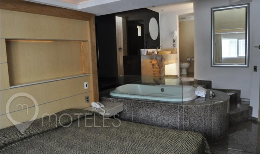Habitacion Jacuzzi del Motel Xol-ha